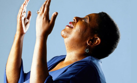 South African singer Sibongile Khumalo has just released a new album, 'Breath of Life'. Photo: www.africanindy.com