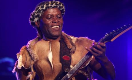 South African musician Thomas Chauke. Photo: www.afriquedusud-decouverte.com