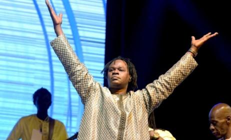 Le chanteur Baaba Maal