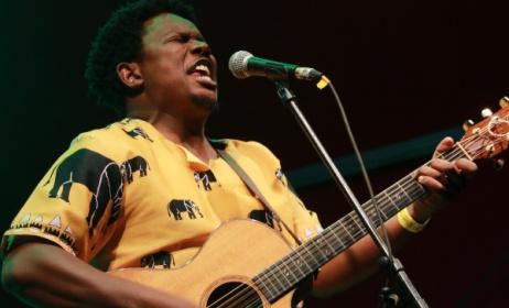 Popular 'Swazi soul' artist Bholoja. Photo: Dave Durbach / Music In Africa