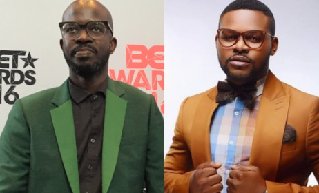 2016 BET Award winners Black Coffee and Falz.