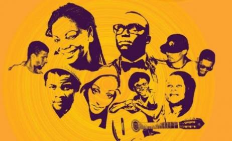 Some of the artists performing at this year's Festa da Música in Maputo, Mozambique.