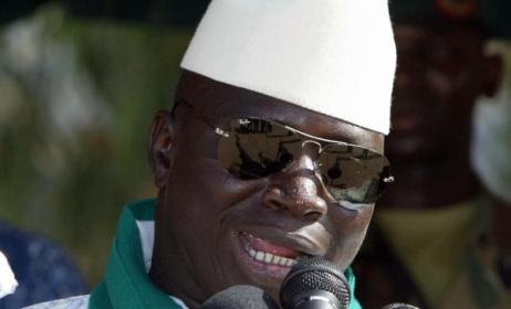 President Yahya Jammeh of the Gambia. Photo: HuffPo
