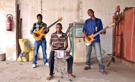 Burundi's Moutcho band. Photo: www. noremorserecordseustore.bandcamp.com