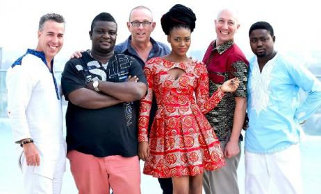 Opoku Mensah, second left, will be performing at an Accra concert. Photo: Facebook