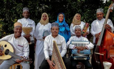 Rajab Suleiman & Kithara will be touring the USA. Photo: Werner Graebner / centerstageus.org