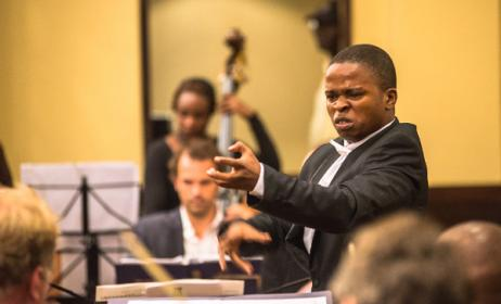Tanzanian conductor Hekima Raymond has been nominated for a prestigious internatinoal honour. Photo: www.hekimaraymond.com