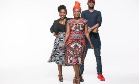 Claudia Tagbo, Angélique Kidjo et Fally Ipupa. (Photo) A. Kidjo Facebook Officiel