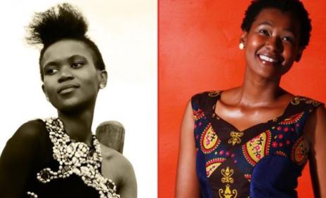 Beko the Storyteller (left) and Khole will perform at Arts Awake in Swaziland. Photo: Arts Awake