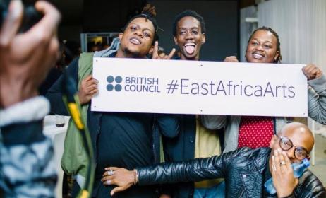 Excited guests at the launch of nAnA at the British Council in Nairobi on 30 June. Photo: British Council Kenya