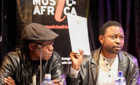 John Katana (right) and Perry Alando (left). Photo:Julian Manjahi