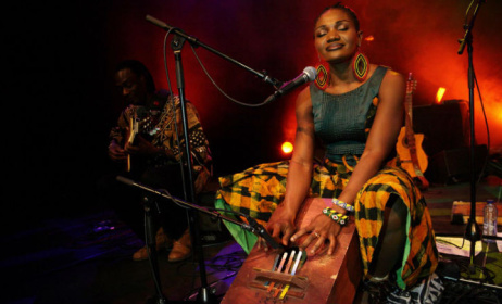 Cameroonian artist Kareyce Fotso. Photo: www.thisisAfrica.me