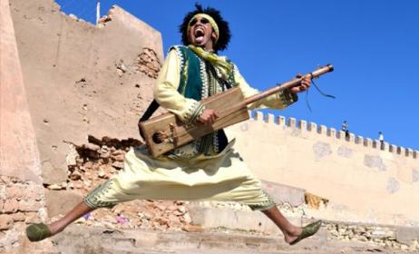 Moroccan musician Mehdi Nassouli will perform at WOMEX in Spain. Photo: www.boulevard.ma