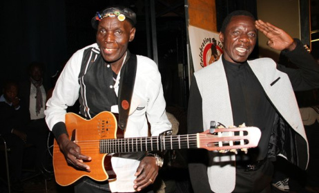 Mtukudzi and Macheso Photo: www.nehandaradio.com