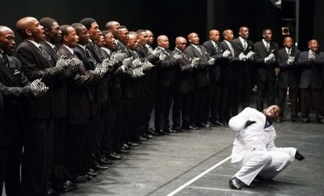 Isicathamiya choirs are a vital part of South Africa's musical tradition. Photo: Playhouse Company