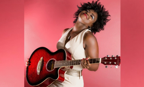 Sandra Huson (pictured) and rapper Eno has signed with a new artist management company. Photo: Twitter