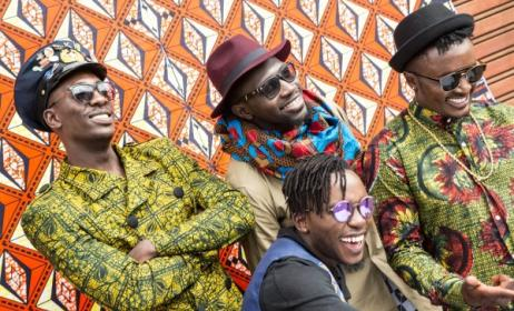Kenyan Afro-pop group Sauti Sol. Photo: Sauti Sol Twitter Page