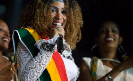 Ethiopian singer Aster Aweke. Photo: www. kulturfestivalen.stockholm.se