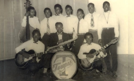 ET Mensah et Tempos Band of Ghana. Photo: Accradotalt