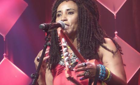 Eritrean singer Faytinga. Photo: Hizbawi Ginbar Twitter page