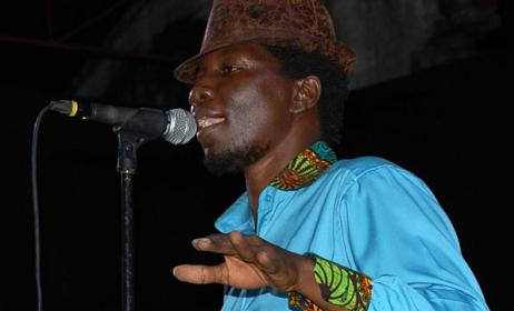 Ugandan artist Kaz Kasozi. Photo: www.monitor.co.ug
