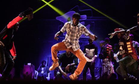 Artists during a performance. Photo: www.washingtonpost.com