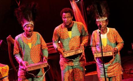 Tanzania's Msafiri Zawose and his band. Photo: Msafiri Zawose's Facebook page