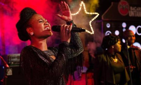 Swazi singer Nomsa performing at Bushfire festival. Photo: MTN Bushfire / Facebook