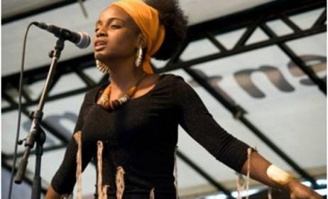 Oupta, singer from Congo Brazzaville. (ph) Facebook