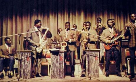 Ramblers highlife ghana 1968 album cover. Photo doublej.net.au