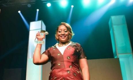 Tiwamyenji Phiri, 2016 Airtel Trace Music Star. Photo: News Verge