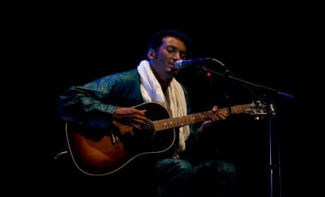 Niger guitarist Bombino. Photo by R. Perobelli