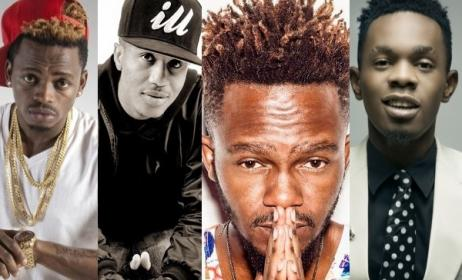 Diamond, Emtee, Kwesta and Patoranking