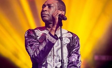 Youssou N'Dour lors du festival d'ile de France en 2015 - Crédit olivier hoffschir. Source : www.festival-idf.fr