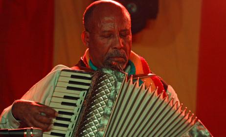 Ethiopian keyboardist Hailu Mergia. Photo: www.nytimes.com