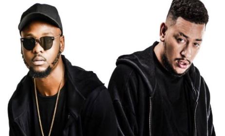 Hip-hop artists LayLizzy and AKA. Photo: www.youtube.com