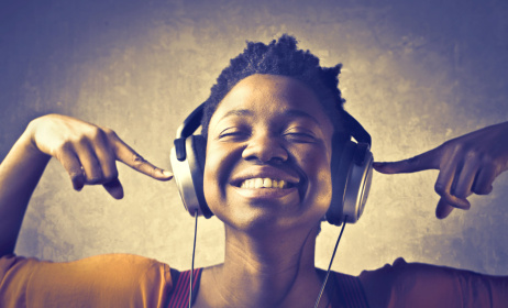 Someone listening to music. Photo: from Shutterstock