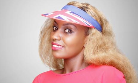 Rwandan pop artist Oda Paccy. Photo courtesy of Oda Paccy
