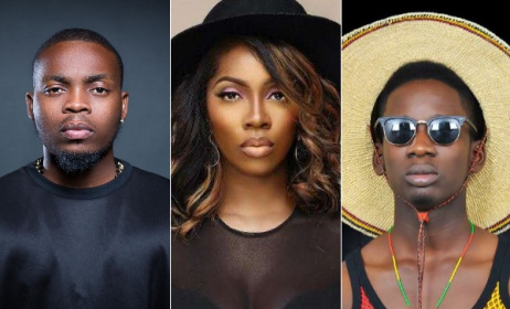 Olamide, Tiwa Savage, Mr Eazi