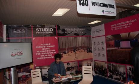 Stand de la fondation Hiba lors du VFM. (Photo) : www.casabouge.com