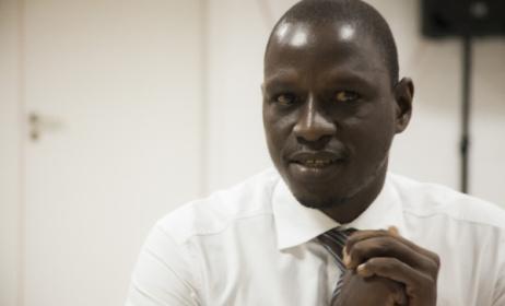 Bouna Manel Fall, directeur de la Société sénégalaise du droit d'auteur et des droit voisins (Sodav). (Photo) : Pressafrik.com