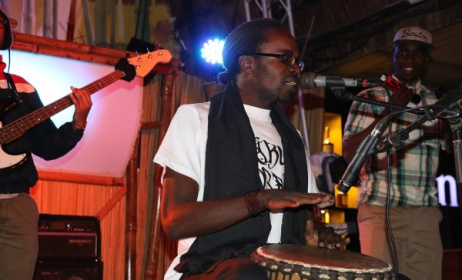 Kenyan hip hop artist Checkmate Mido. Photo: www.treehouse-nairobi.com
