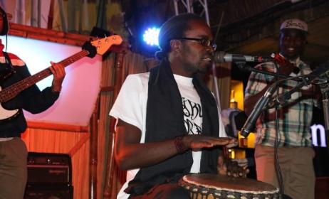 Kenyan hip hop artist Checkmate Mido. Photo: www.treehouse-nairobi.com