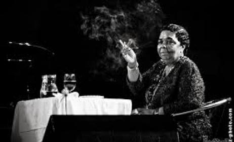 Cesaria Evora, the Cape Verdean queen of Morna music. Photo: www.telegraph.co.uk