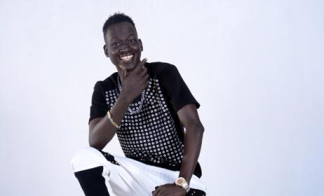 South Sudan pop artist Khor DJ. Photo courtesy of Elbow Chuol