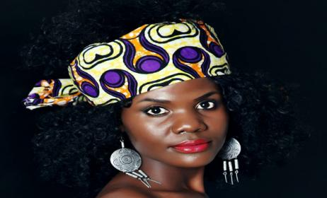 Ugandan artist Lily Kadima. Photo: Lily Kadima's Facebook page