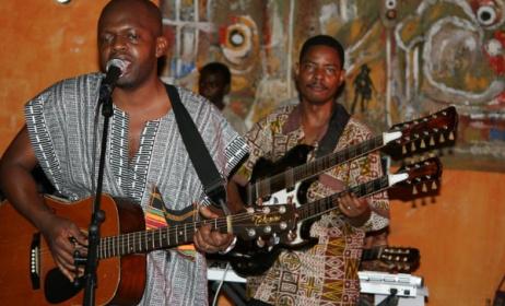 Members of Wahapahapa band from Tanzania. Photo: www.busaramusic.org