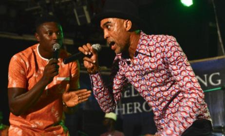 Ade Bantu performing at Afropolitan Vibes. Photo: Afropolitanvibes.com