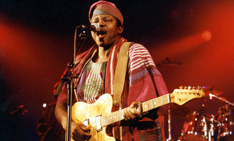 King Sunny Ade. Photo: Flickr