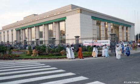 Le Grand Théâtre National de Dakar. (Photo) : Lucie Falque-Vert